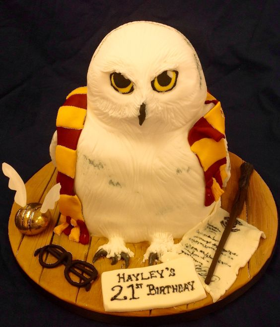 hagrid birthday cake