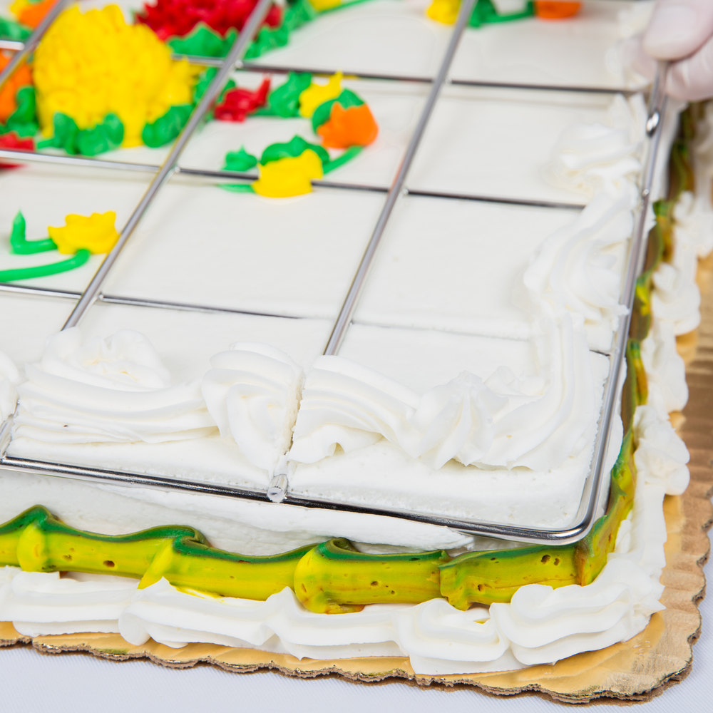 what size is a full sheet cake